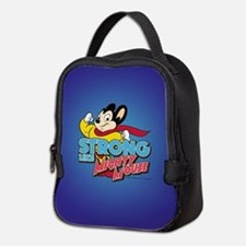 Strong Mighty Mouse Neoprene Lunch Bag