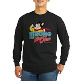 Mighty mouse tv Long Sleeve Dark T-Shirts