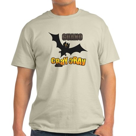 Men's Guano Cray Cray is batshit crazy design T-Shirt.