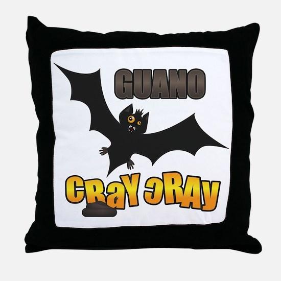 Unique Cray Throw Pillow