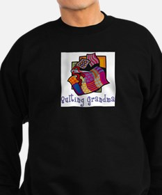 Quilting Grandmother Sweatshirt