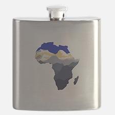 AFRICA Flask