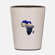 AFRICA Shot Glass