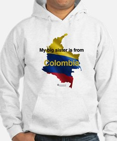 My Big Sister - Colombia- Light Hoodie