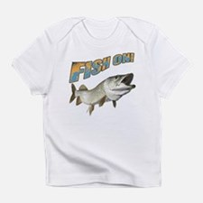Fish on Musky color Infant T-Shirt