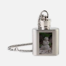 Unique Chirstmas Flask Necklace