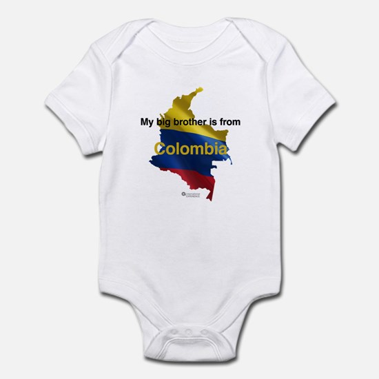 My Big Brother - Colombia - Light Infant Bodysuit