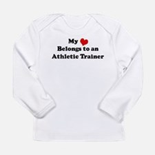 Heart Belongs: Athletic Train Long Sleeve T-Shirt