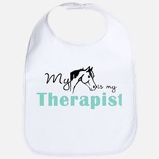 Horse Therapist Equestrian Bib