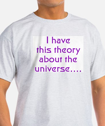 E8 Theory of Everything T-Shirt