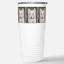 Cute West highland terrier i Travel Mug
