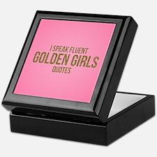 Golden Girls - Fluent Quotes Keepsake Box