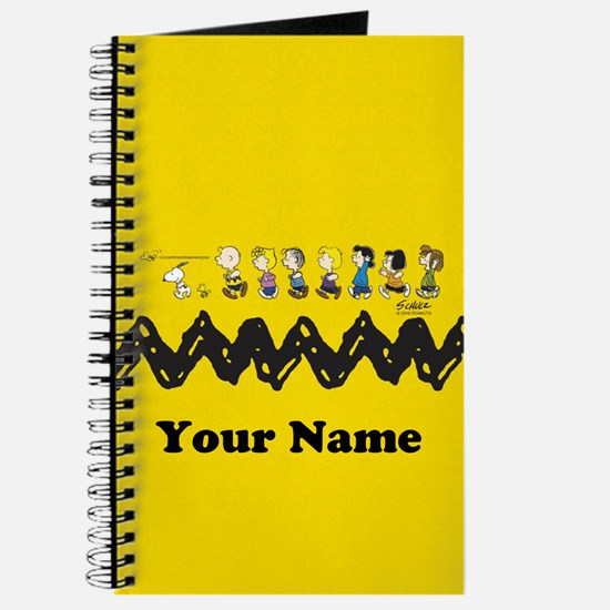 Peanuts Running Personalized Journal