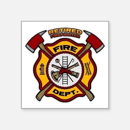 Retired Firefighter Sticker