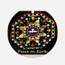 Peace on Earth! Photo! Round Ornament