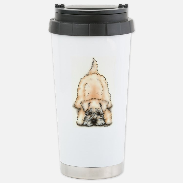 Cute Soft coated wheaten terrier Travel Mug