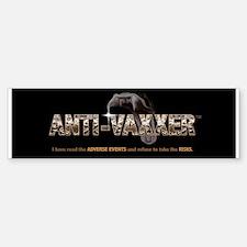 Anti-Vaxxer™ Rattlesnake Bumper Bumper Bumper Sticker