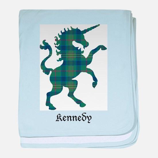 Unicorn - Kennedy baby blanket