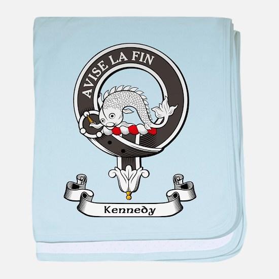 Badge - Kennedy baby blanket