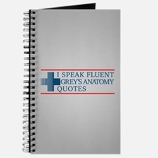 Grey's Fluent Quotes Journal