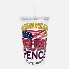 Triumphant Trump Acrylic Double-Wall Tumbler