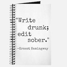 Write Drunk Journal