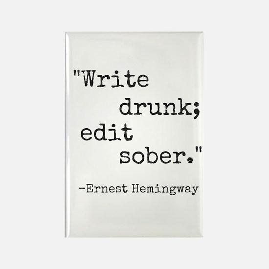 Write Drunk Magnets