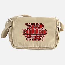 HTGAWM Who Killed Wes? Messenger Bag
