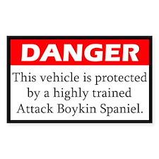 Attack Boykin Spaniel Decal