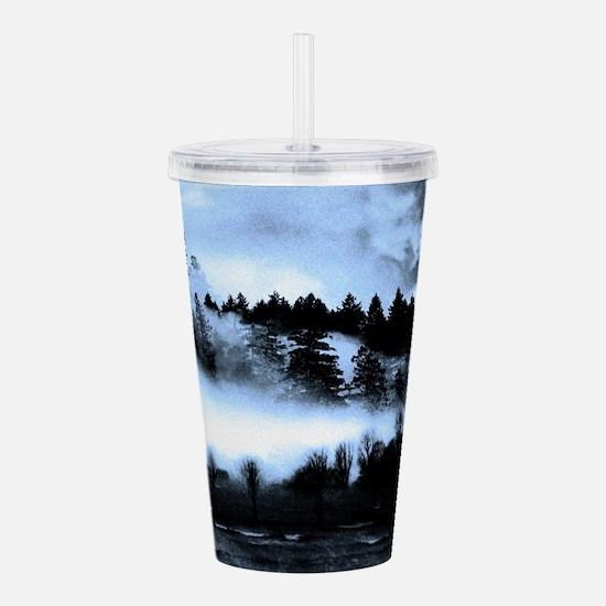 Dark Forest Acrylic Double-wall Tumbler
