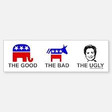 The Good The Bad The Ugly Bumper Bumper Bumper Sticker