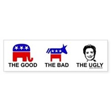 The Good The Bad The Ugly Bumper Bumper Sticker