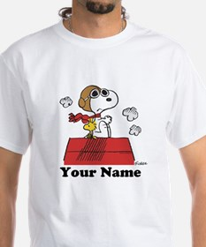 Peanuts Flying Ace Personalized Shirt