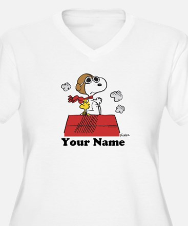 Peanuts Flying Ac T-Shirt