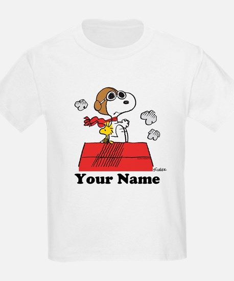 Peanuts Flying Ace Personalized T-Shirt