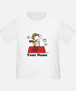 Peanuts Flying Ace Personalized T