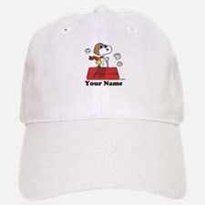 Peanuts Flying Ace Personalized Baseball Baseball Cap