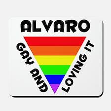 Alvaro Gay Pride (#006) Mousepad