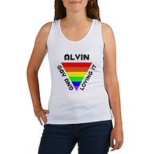 Alvin Gay Pride (#006) Women's Tank Top