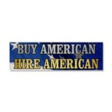 "Buy american 3"" x 10"""