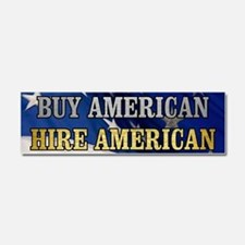 BUY HIRE AMERICAN Car Magnet 10 x 3
