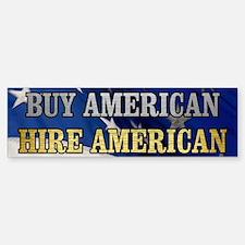 BUY HIRE AMERICAN Sticker (Bumper)