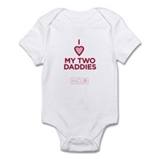 Infant - I Heart My 2 Daddies Body Suit
