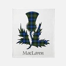 Thistle - MacLaren Throw Blanket
