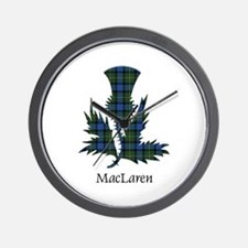 Thistle - MacLaren Wall Clock