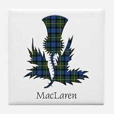 Thistle - MacLaren Tile Coaster