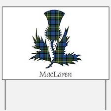 Thistle - MacLaren Yard Sign