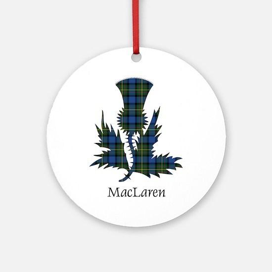 Thistle - MacLaren Ornament (Round)