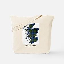 Map - MacLaren Tote Bag