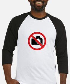 No Paparazzi Please Baseball Jersey